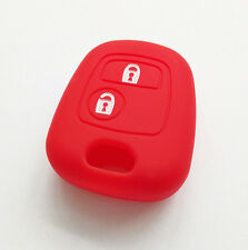 FOR PEUGEOT 107 307 207 405 C3 SILICONE SMART KEY REMOTE HOLDER CASE FOB COVER