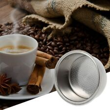 1Pc Coffee Filter Basket Stainless Steel Machine 51mm Double Cup Non Pressurized