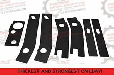 7 Pc Frame Rust Repair Weld Plates 1986-1995 Jeep Wrangler YJ Rear Patch Rusted