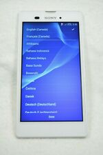 Sony Xperia T3  - Model D5106 - 8B - White - (Unlocked) - Smartphone