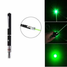 Green Laser Pointer Pen Visible Beam Light Lazer High Power Heater With Clip