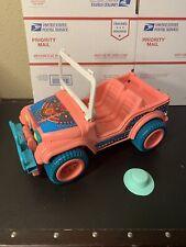 New Listing1989 Barbie Western Fun Desert Rider Jeep, Mattel #7443, Arco 1987