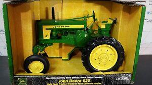 Ertl John Deere 620 High Crop 1/16 diecast metal farm tractor replica / toy