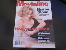 Sharon Stone, Craig Sheffer, Sandra Bullock - Movieline Magazine 1996