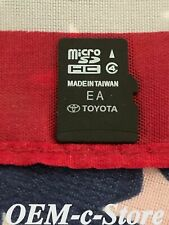 OEM Toyota Corolla Sequoia SR5 Rav4 Limited Navigation Micro SD Card Map #182
