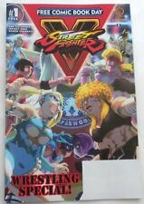 New Street Fighter V Wrestling Special! Fcbd 2017