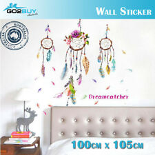 DIY Wall Sticker Dream Catcher Feathers Art Vinyl Wall Decals Home Room Decor