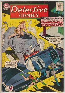 Detective Comics #315 VG- 3.5 Jungle-Man of Gotham City, Batman/Robin DC 1963