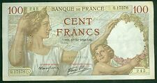BILLET DE 100 FRANCS SULLY 19-12-1940  ETAT: TTB   Q.17576