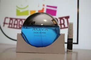 Bvlgari Aqva pour homme atlantiqve 5ml/0.17oz sample atomizer fragrance
