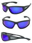 Sport Wrap Around Polarized Floating Sunglasses Biker Motor-cycle Fishing