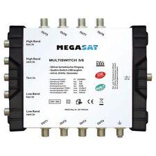 Megasat Multischalter 5/8 Multiswitch DiSEqC Verteiler Quad LNB tauglich