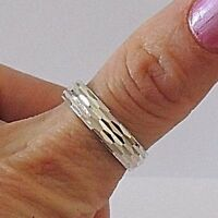 925 STERLING SILVER BAND RING size J, K, K1/2, L, S1/2