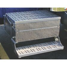 """Freightliner Classic 1989+ Stainless Steel Front Panels for Battery Tool Box-43"""""""