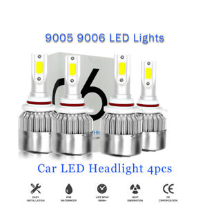 9005 9006 LED Headlight High Low Bulb for Honda Accord 2008-2012 Civic 2006-2013