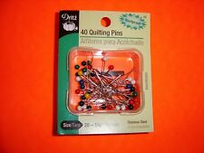 3037 Dritz Quilting Pearlized Pins 100//Pkg-Multicolor Size 24