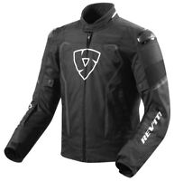 GIACCA JACKET MOTO REV'IT REVIT VERTEX H2O IMPERMEABILE WP NERO BLACK TG L