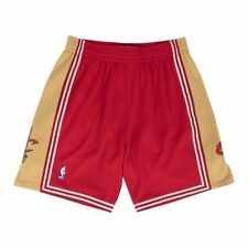 2003-04 Cleveland Cavaliers Mitchell & Ness vino Throwback Swingman Pantalones Cortos de carretera