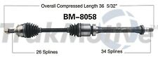 For Mini Countryman Paceman Front Pass Right CV Axle Shaft SurTrack BM-8058