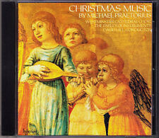 PRAETORIUS Christmas Music WESTERMINSTER CATHEDRAL CHOIR David Hill CD Hyperion