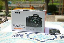 canon eos kiss x4 550D Box and manual only