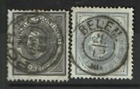 Portugal SC# 52 and 53, Used - S4723