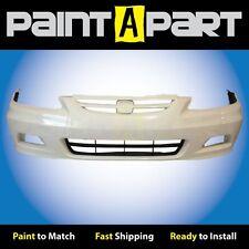 2001 2002 Honda Accord Coupe Front Bumper Painted NH578 Taffeta White