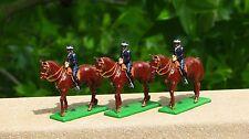 Lot of 3 Britains 8019 London Metropolitan Mounted Police Soldier Figure