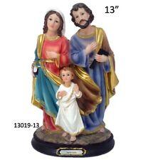 """SAGRADA FAMILIA-HOLY FAMILY 13"""" INCH STATUE 13019-13 BRAND NEW IN BOX"""