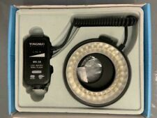 Yongnuo MR-58 Flash LED Luz Macro Ring TTL + Lente Adater para Cámara Canon