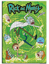 Licensed Puzzle 1000pcs Rick and Morty Jigsaw Puzzle