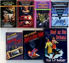 Toni Kelner Laura Fleming Mystery Lot, Signed 1st Ed Death of a Damn Yankee NEW