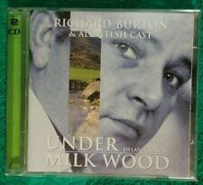 Under Milk Wood Richard Burton & All Welsh Cast CD 2 disc 1998 (A10)