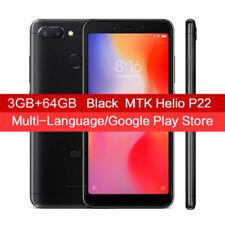 Xiaomi Redmi 6 4G Smartphone 3+64GB MIUI 9 Helio P22 Octa Core 3000mAh Dual SIM