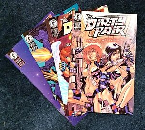 Lot (4) DIRTY PAIR RUN FROM FUTURE #1 3 4 (#3 BRUCE TIMM COVER) + START VIOLENCE