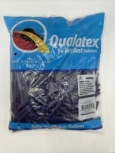 Qualatex 260Q Balloons Purple Violet 100 Count Lot #201504 New Show Trick Clown