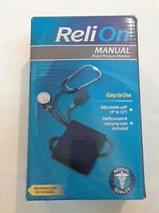 New Reli-On Medical Quality Manual  Blood Pressure Monitor  Model 100-021REL