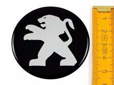 Peugeot * 4 trozo * silicona ø55mm pegatinas llantas de emblema pegatinas tapacubos