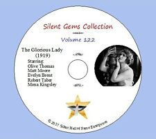 """DVD """"The Glorious Lady"""" (1919) starring Olive Thomas, Classic Silent Drama"""