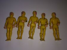 Lot of 5 Adventure People #334 Male Sea Shark Fisher Price Yellow Divers