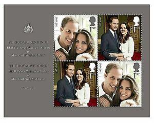 ~GB~2011~Royal Wedding~M/S~Unmounted Mint Set~~UK Seller