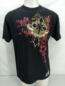 WWE Authentic T Shirt Mens Large Shawn Michaels Heartbreak Kid Short Sleeve WWF