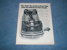 """1969 Volvo 142S Vintage Ad """"Now. Under the Special Coating of Glob..."""""""