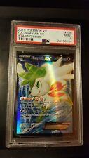PSA 9 MINT SHAYMIN EX 106/108 XY Roaring Skies FULL ART Rare Holo Pokemon Card