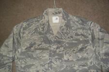 Military ABU Shirt 40L Man's Tiger Stripes Airman Battle Uniform USAF #340