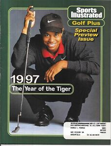 1st Sports Illustrated Golf Plus TIGER WOODS 1997 Year of the Tiger PMS Mint!