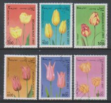 Afghanistan - 1997 Tulip (Flowers) set - CTO (e)