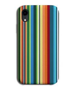 Colourful Striped Design Phone Case Cover Stripes Pattern Mexican Serape M708