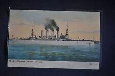 (ACR-7) USS Armored Cruiser Colorado Postcard