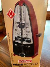 New Taktell Metronome Black Wittner No. 836 made in Germany serie 830